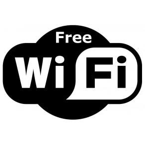 "Wi-Fiが無料"""