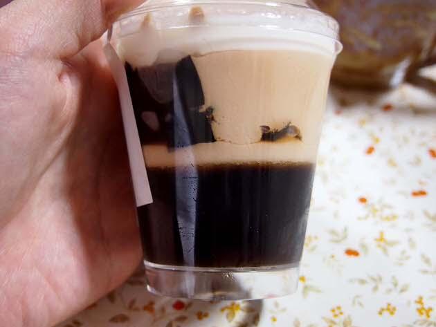 コーヒーゼリーのムース
