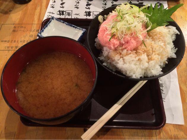 丸八水産ネギトロ丼