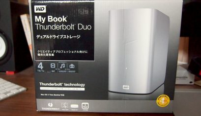 Thunderbolt HDD、My Book Thunderbolt Duo