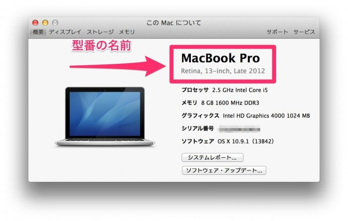 macbook情報