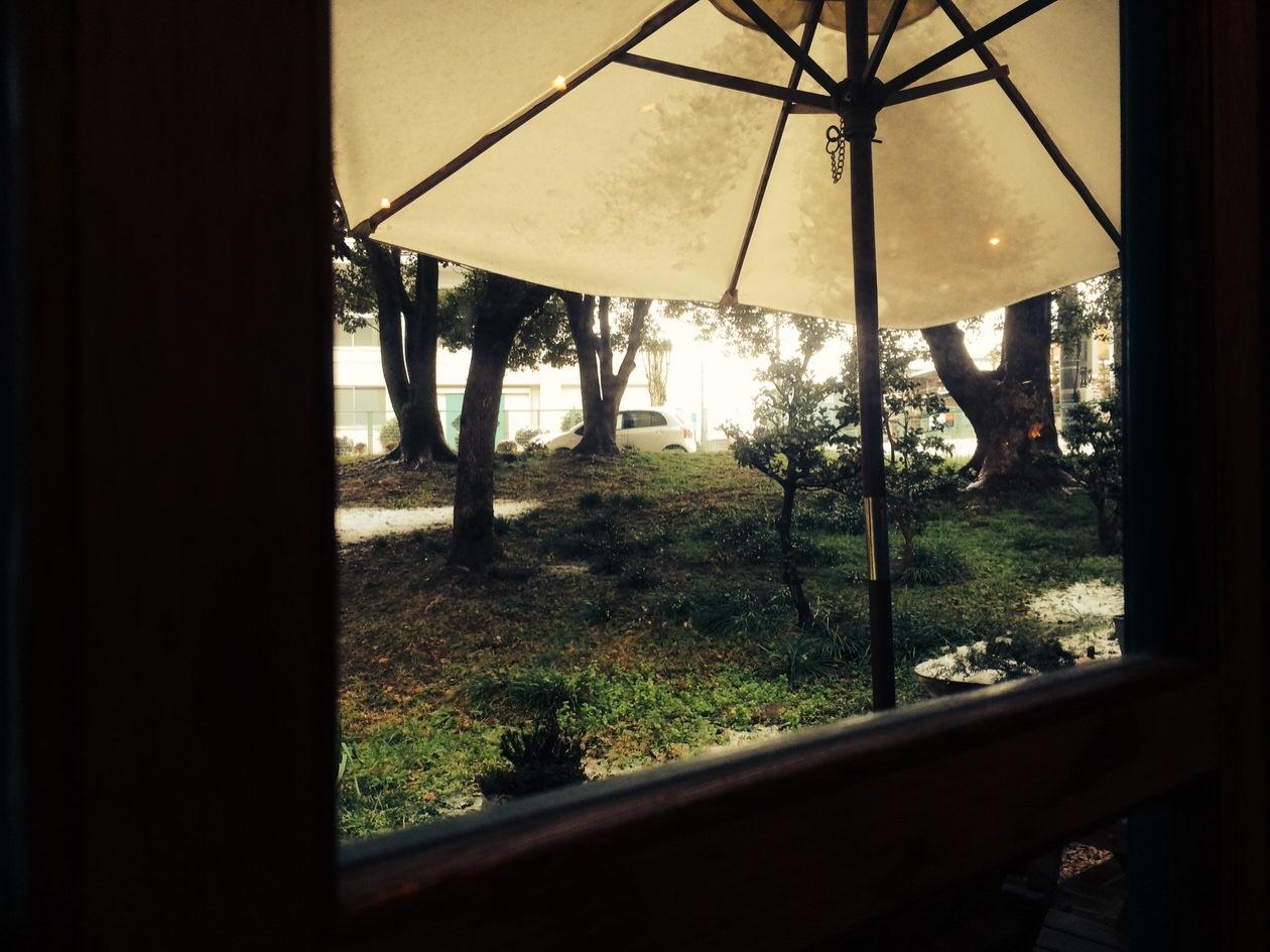 アガペカフェからの風景