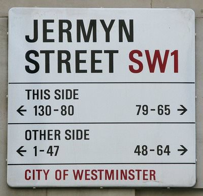 ロンドン・ジャーミンストリート