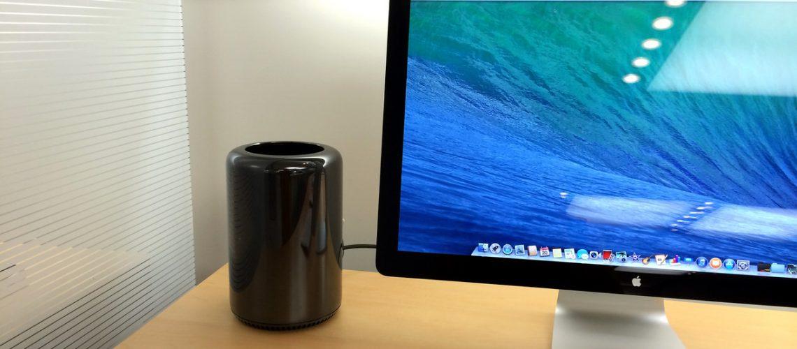 初めてMac Proを触ってきたが、スペックよりも重さに驚いた!