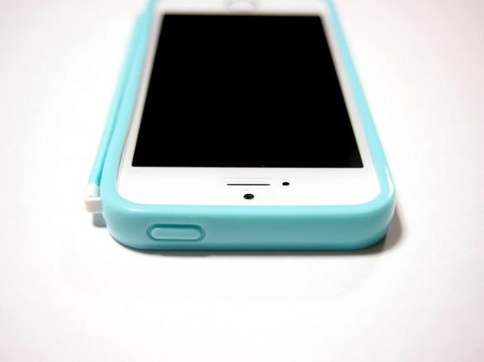 落下防止iPhoneケース「京都みみずく」クリアタイプ