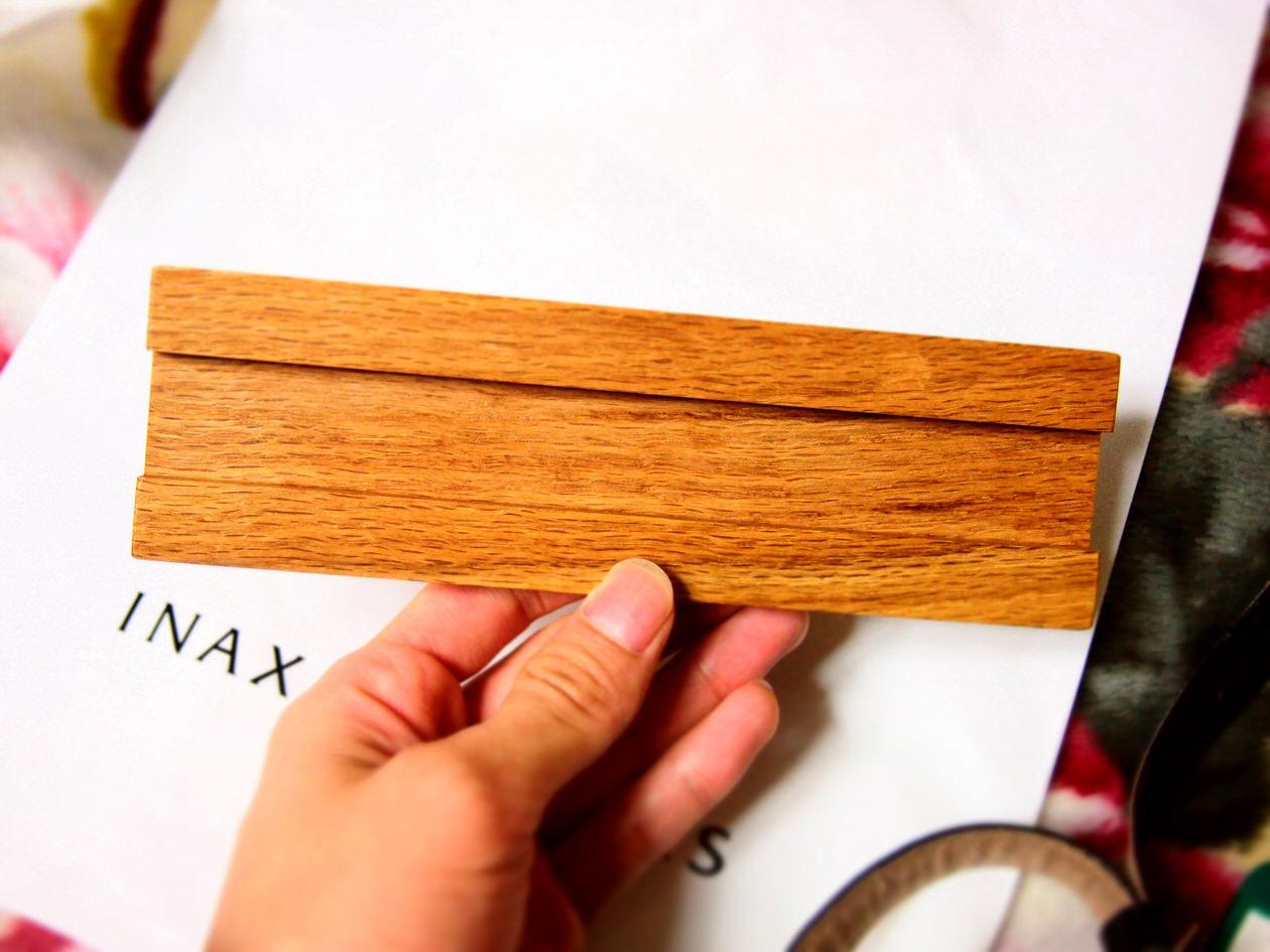 文字入りタイル木板