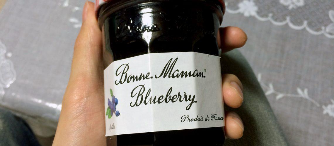 ボンヌママンのブルーベリージャム