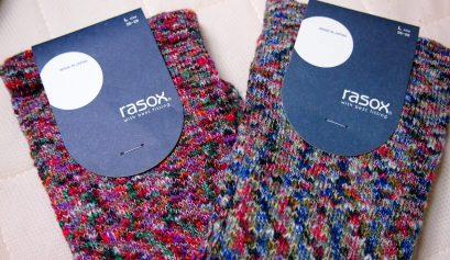 締めつけ感のない靴下rasox(ラソックス)