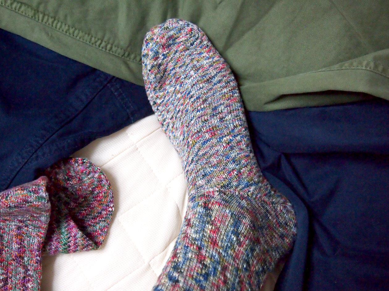 締めつけ感のない靴下