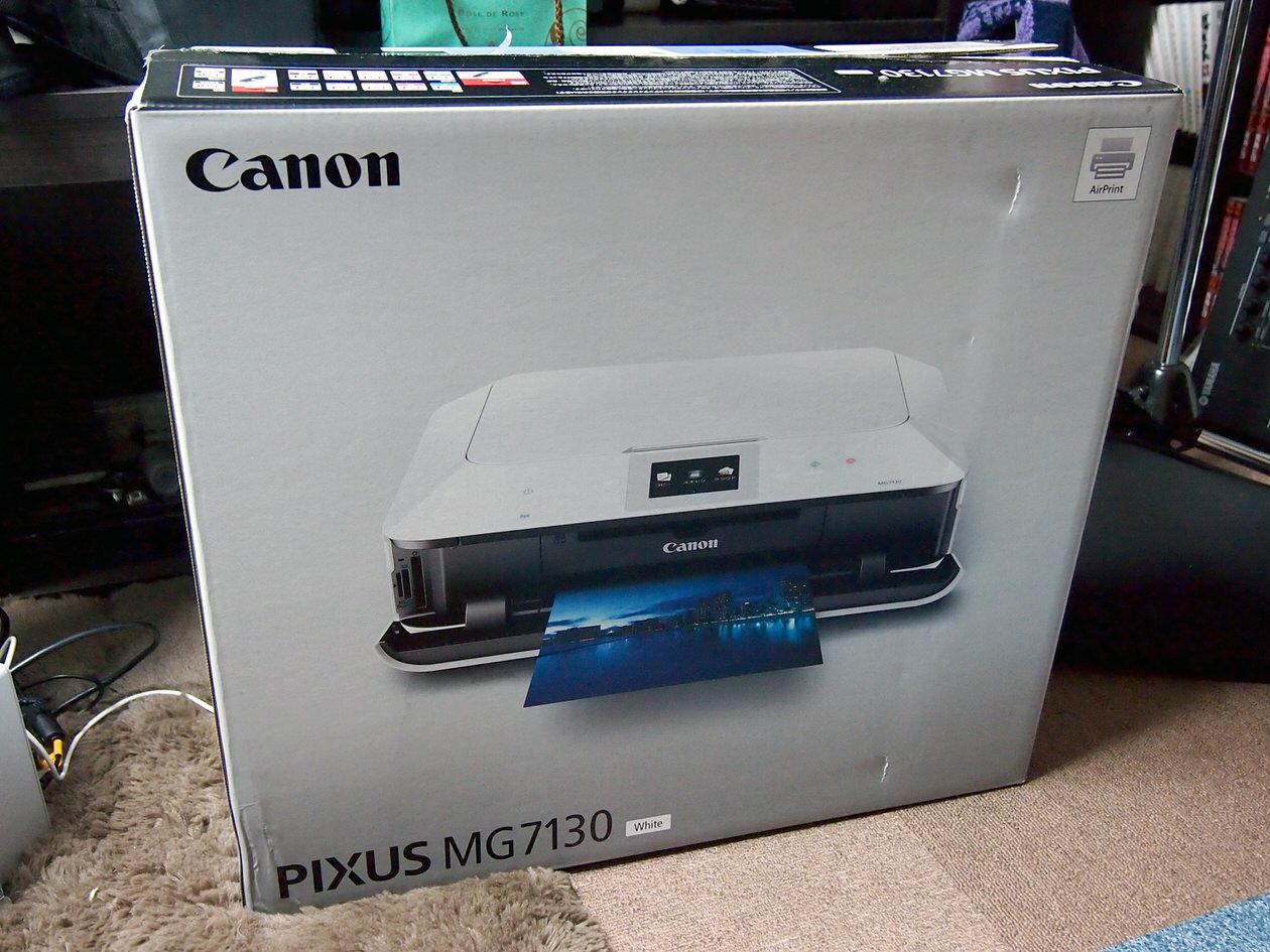 canon-mg7130の開封前