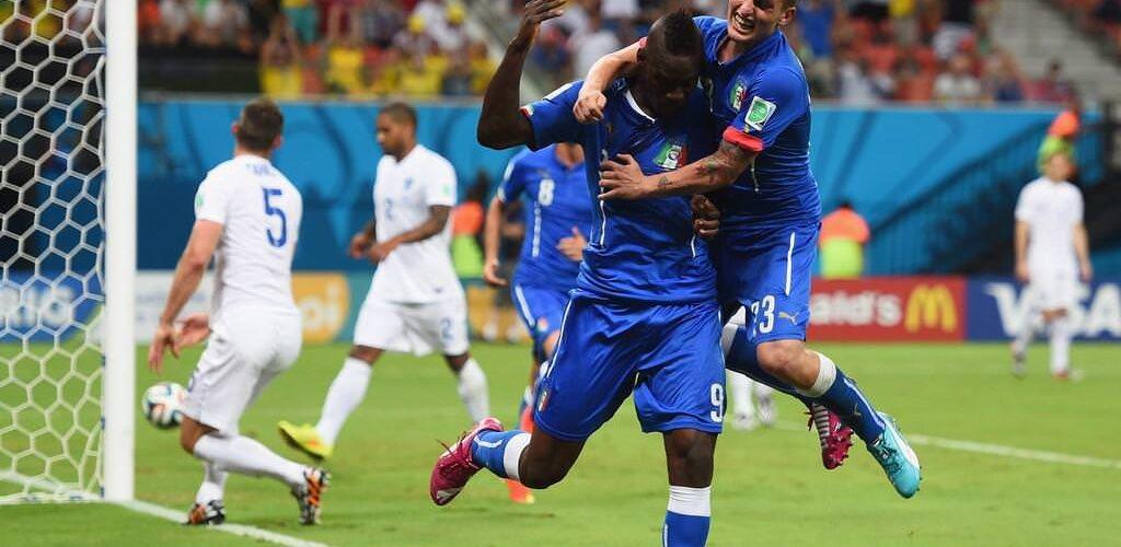 ブラジルW杯 イングランドvsイタリア