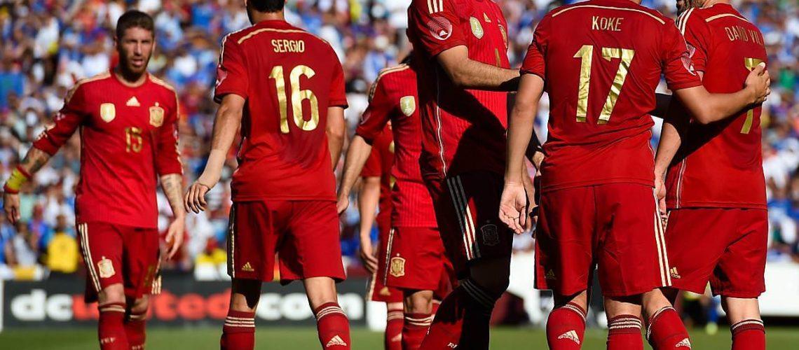 スペイン代表がオランダに大敗