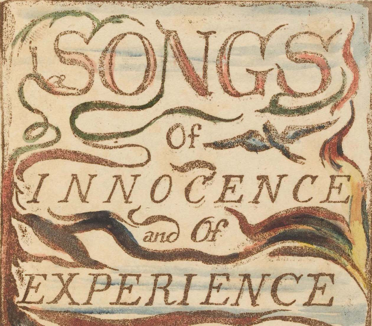 詩集Songs of innocence