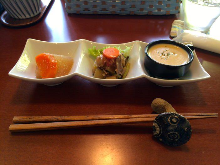 岡崎市のカフェ・コジマトペのランチ副菜
