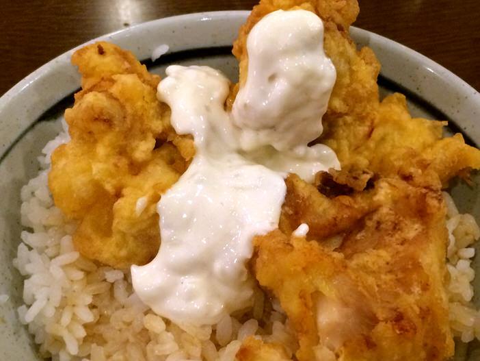 丸亀製麺のタル鶏天アップ2