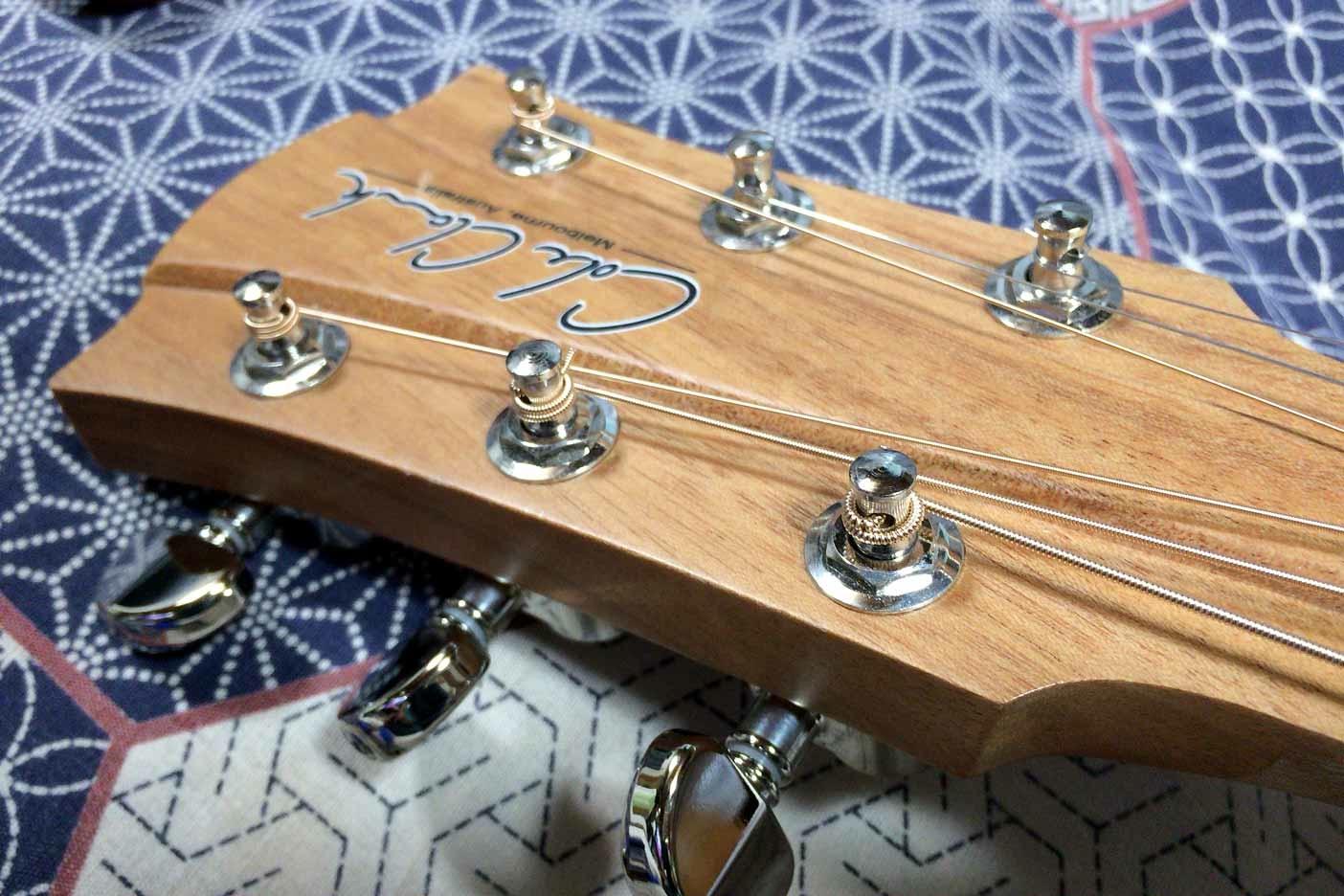 ギターの弦の替え方講座011