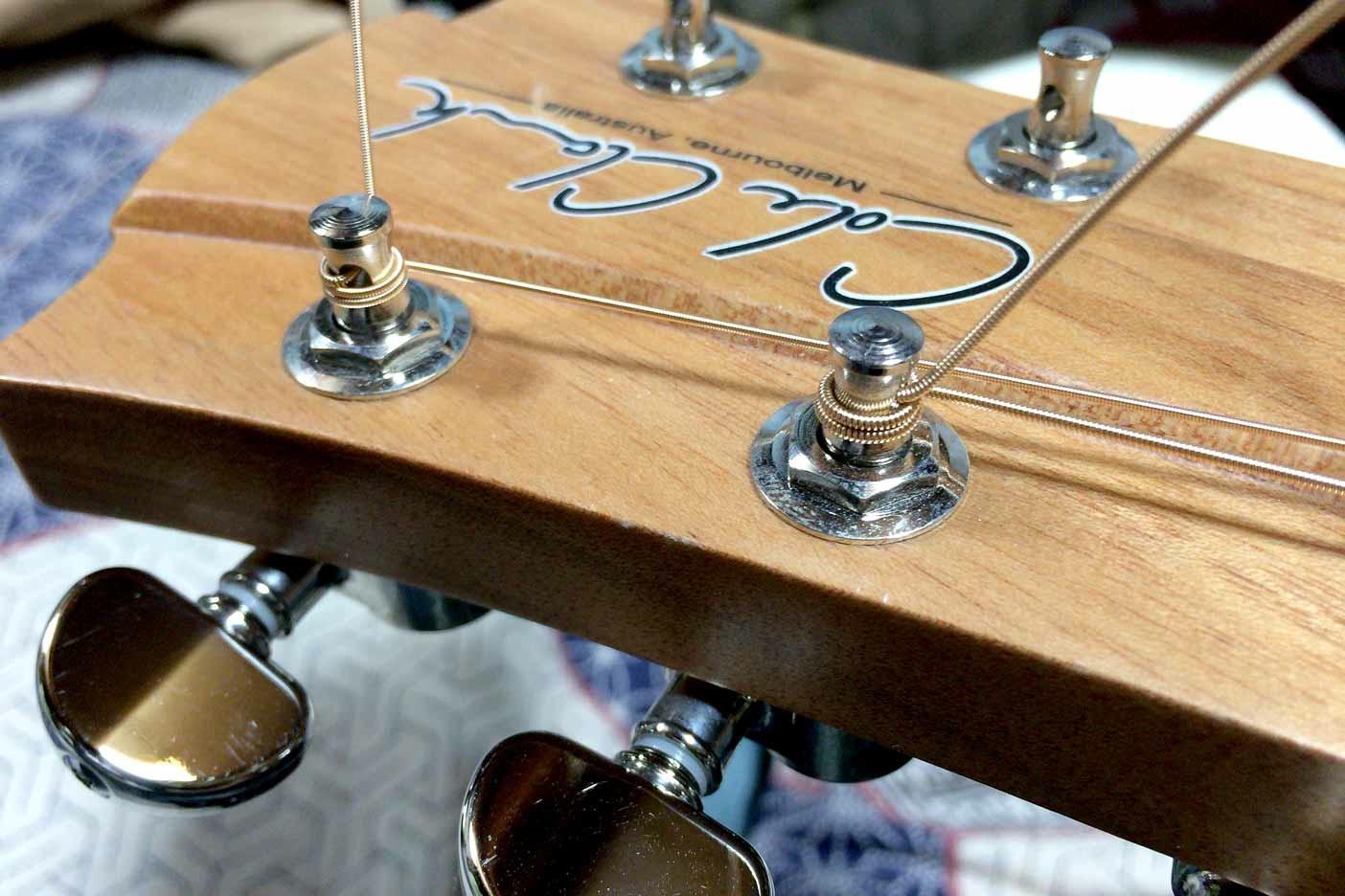 ギターの弦の替え方講座006