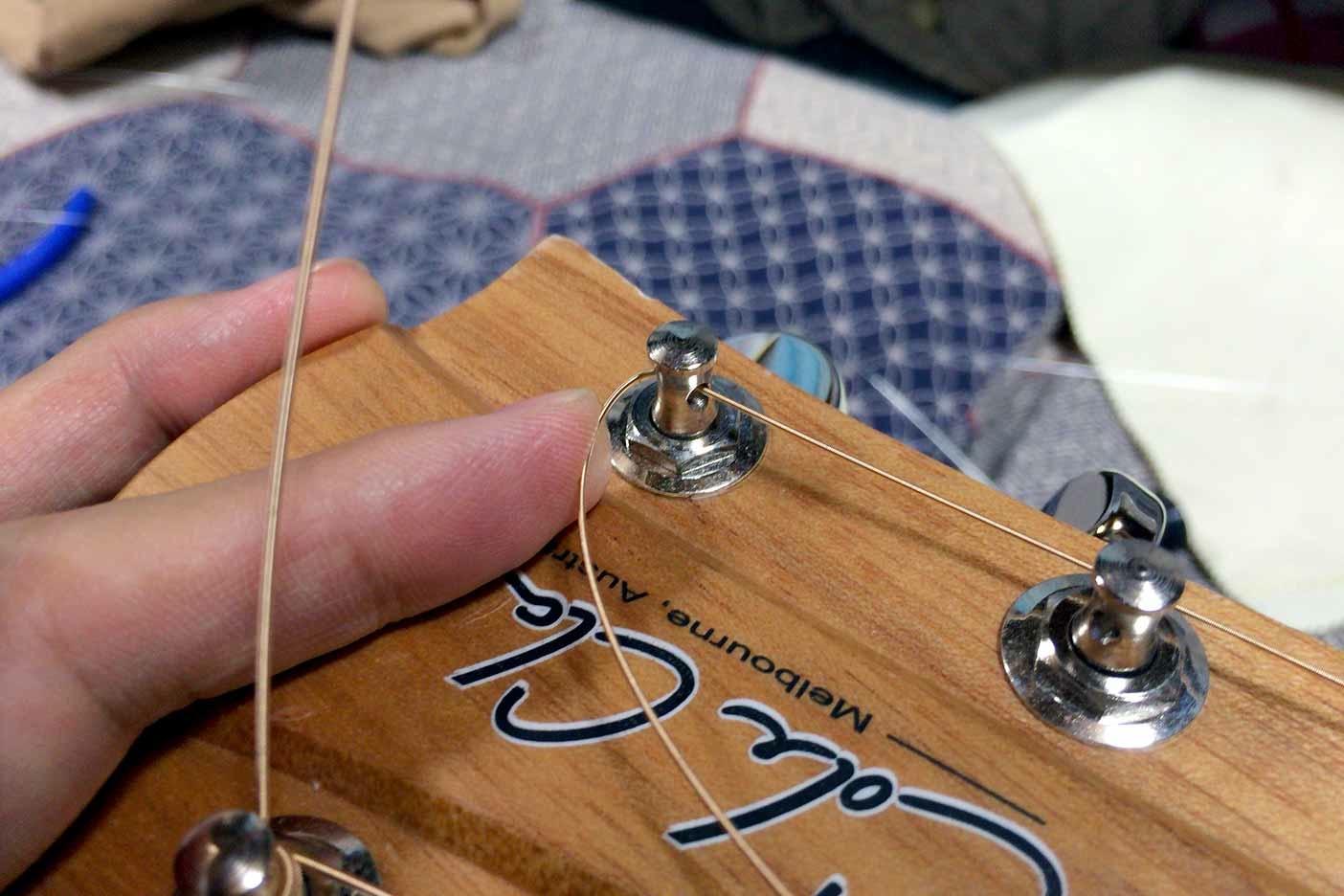 ギターの弦の替え方講座008