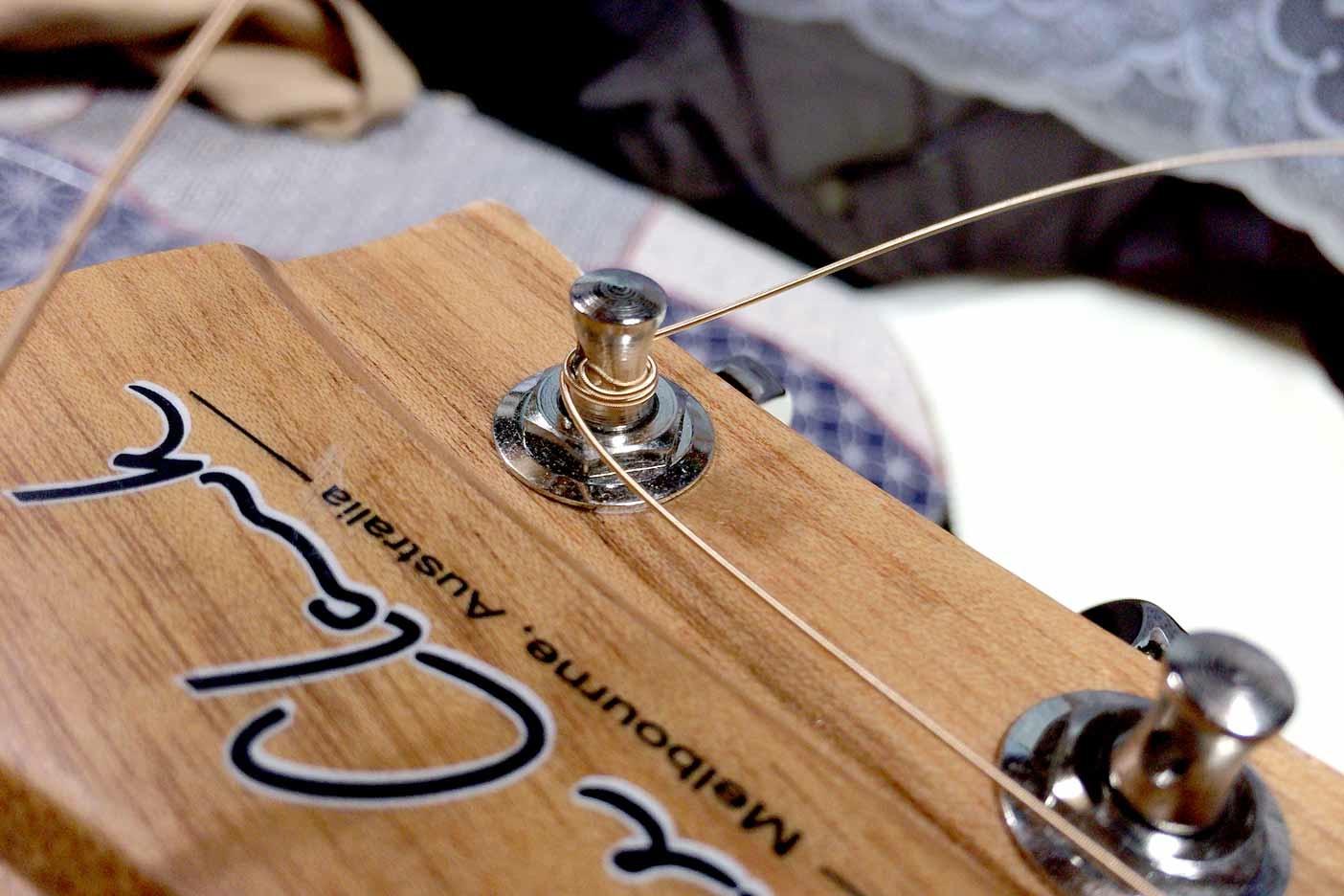 ギターの弦の替え方講座009