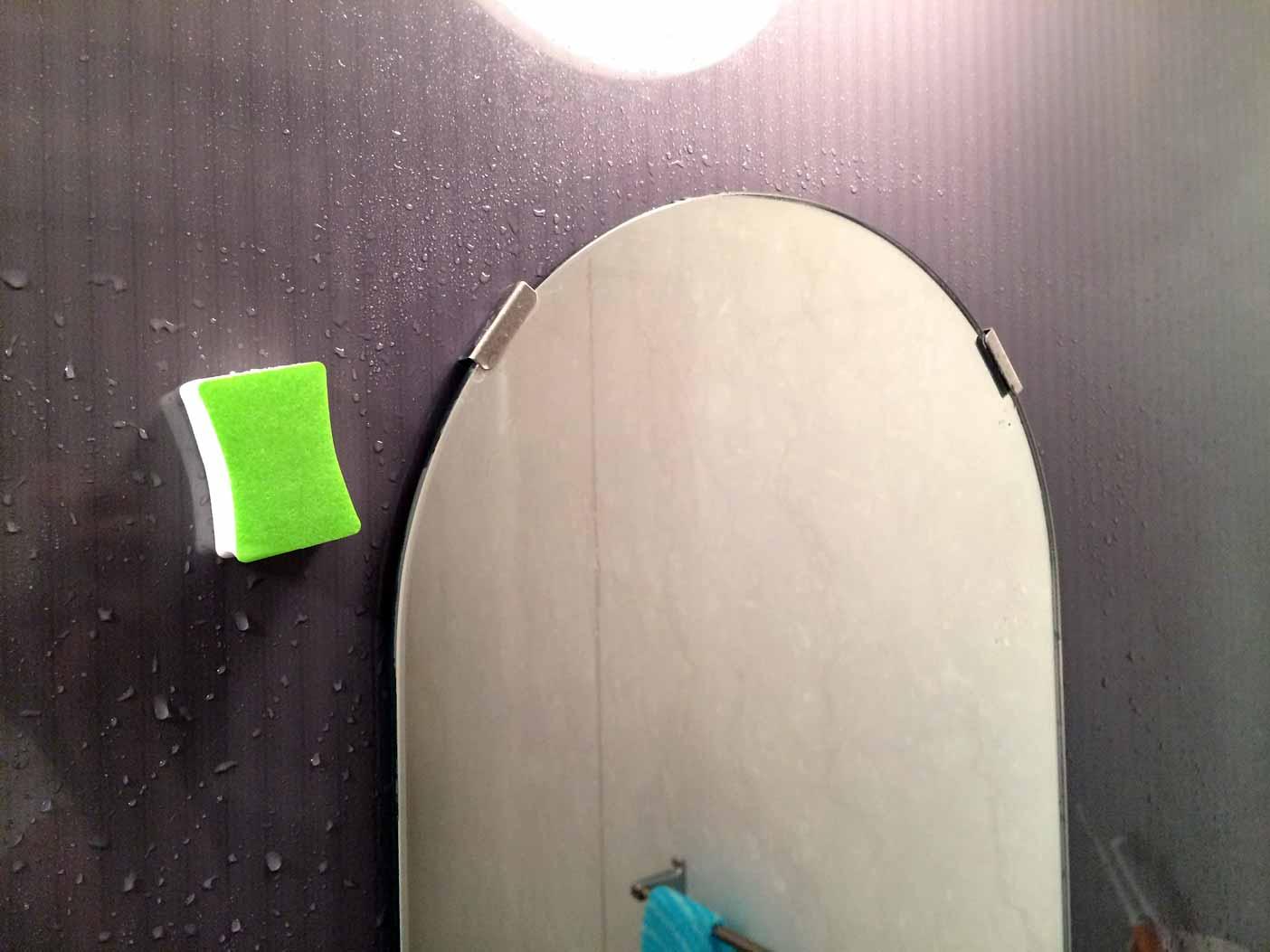 鏡みがきでピカピカになりました。