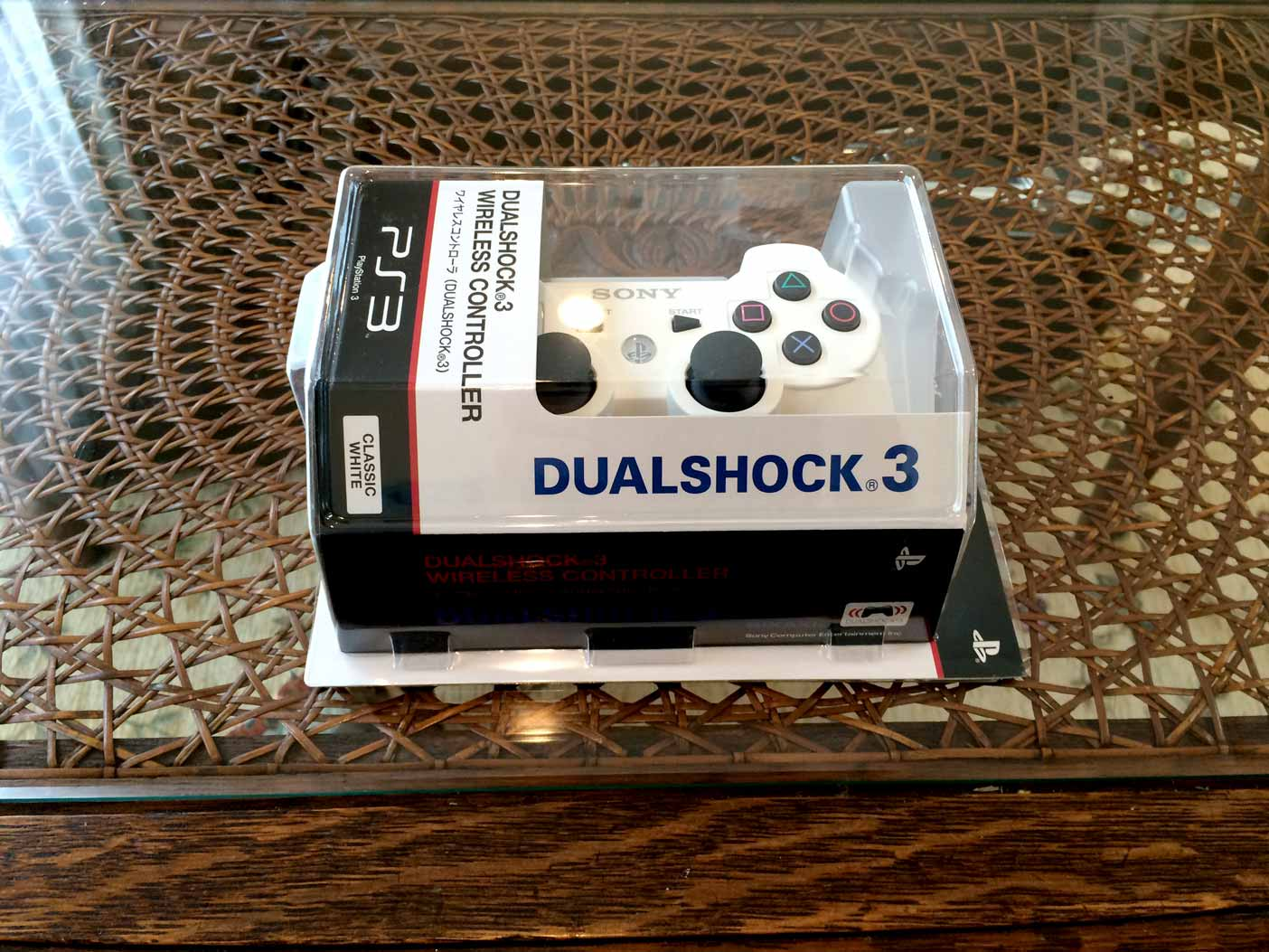 PS3コントローラ・ホワイト