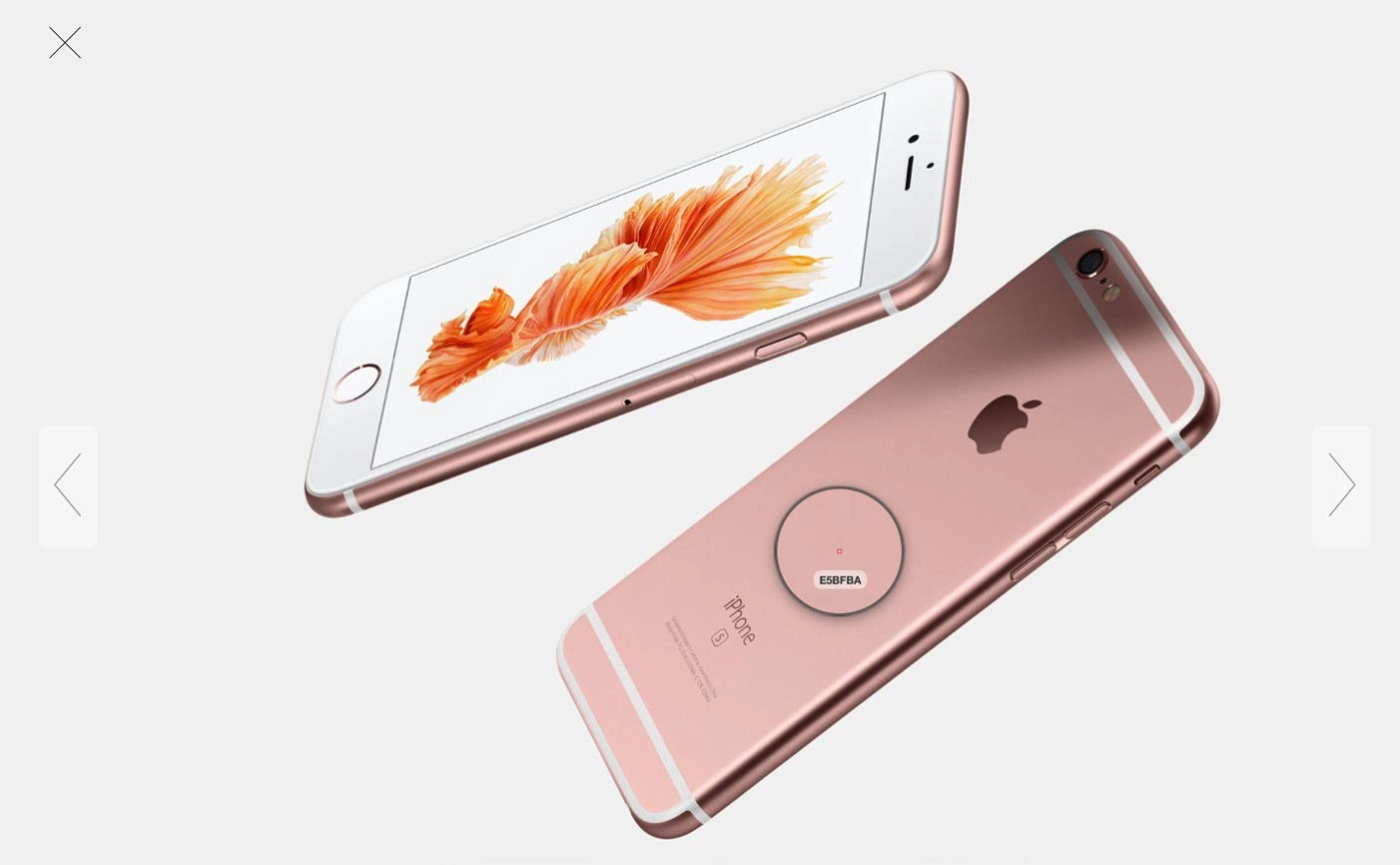 iPhone 6sのローズゴールドの色を調べてみた