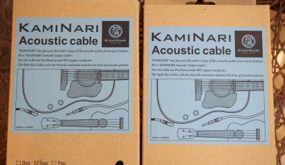 KAMINARI アコースティックギター用ケーブル