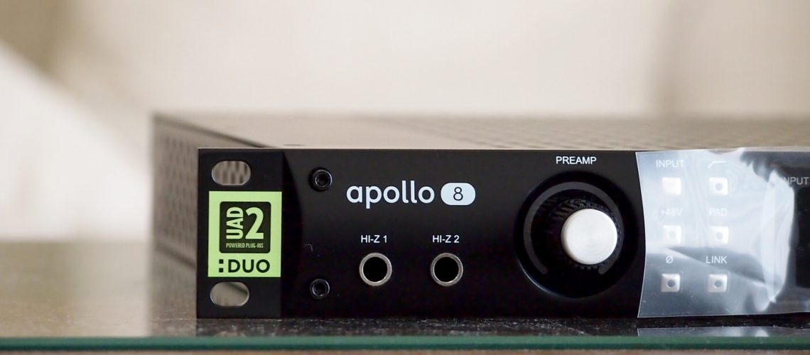 UNIVERSAL AUDIO APOLLO 8 DUO