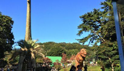 東公園の恐竜