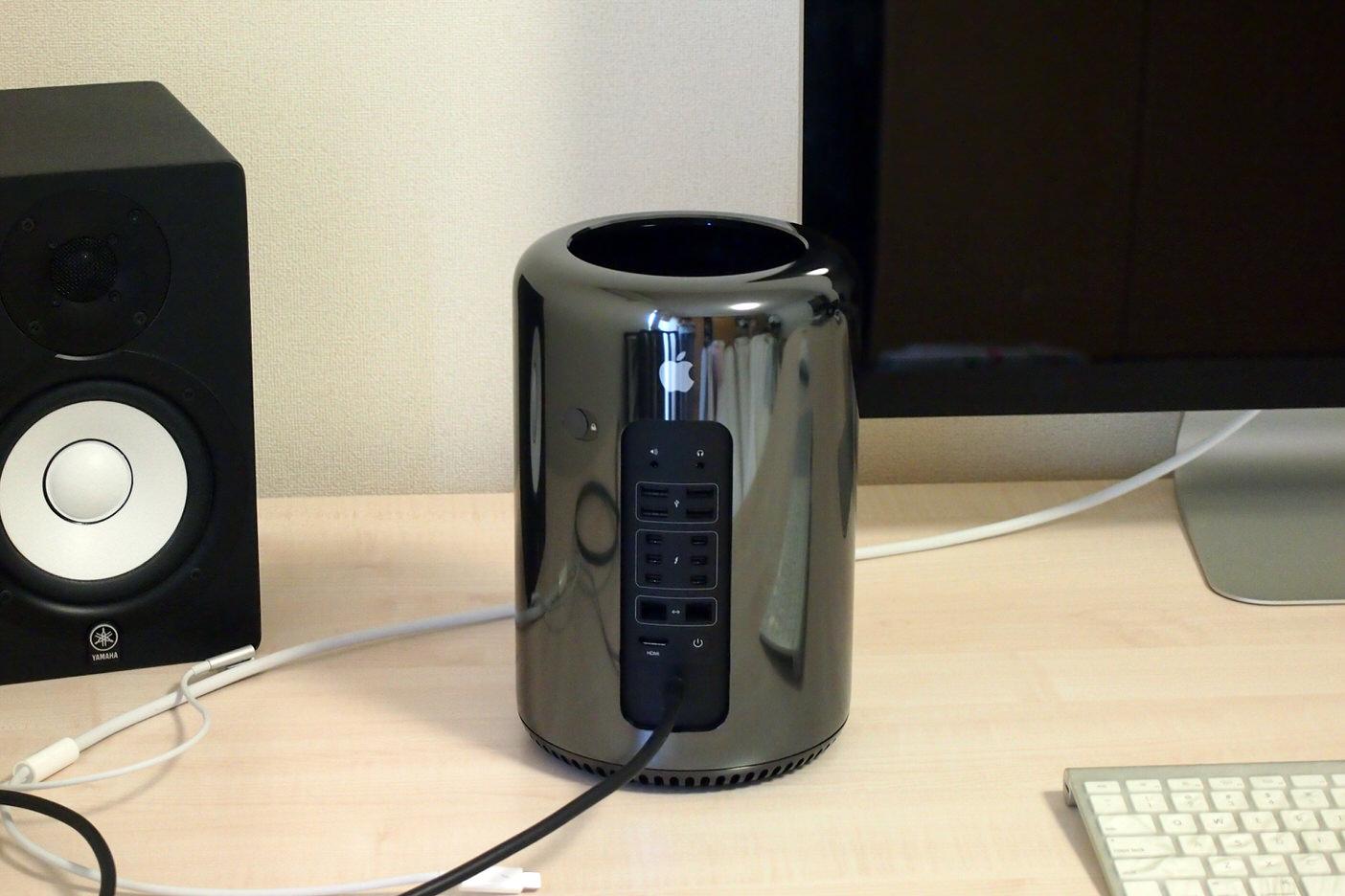 Mac Pro 2013モデルの実力