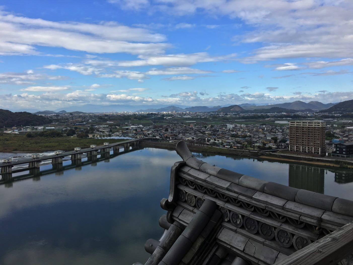 犬山城からの景色2