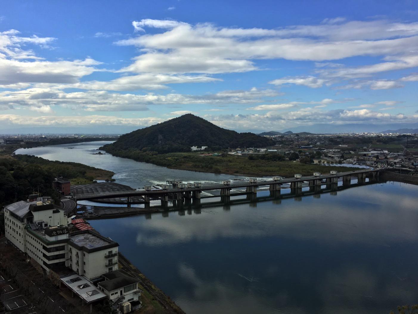 犬山城からの景色3