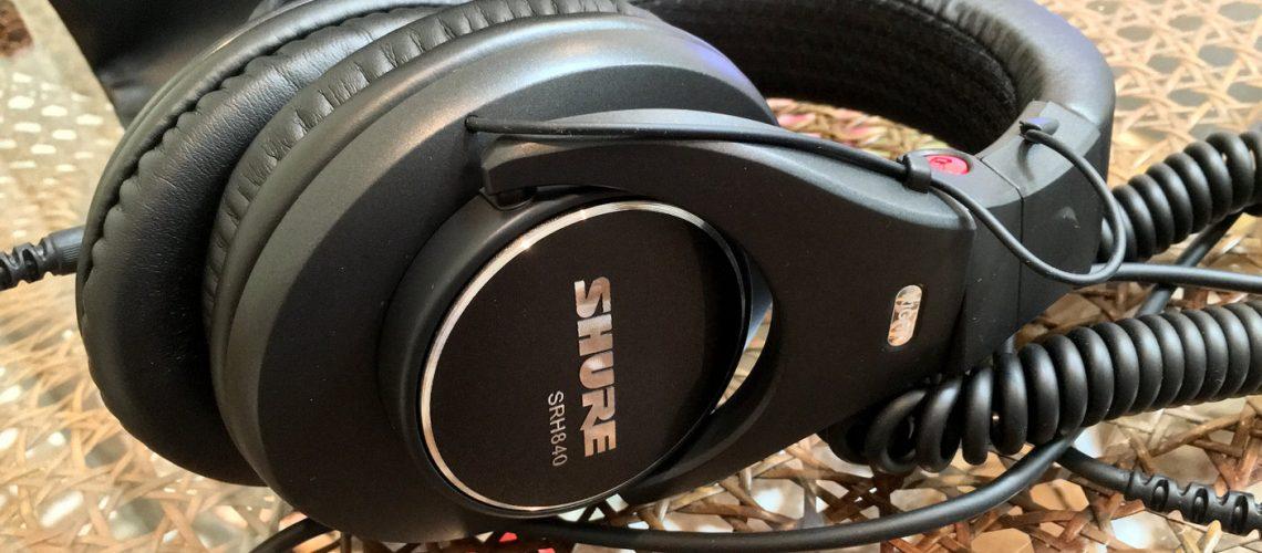 SHURE SRH840 モニターヘッドフォン