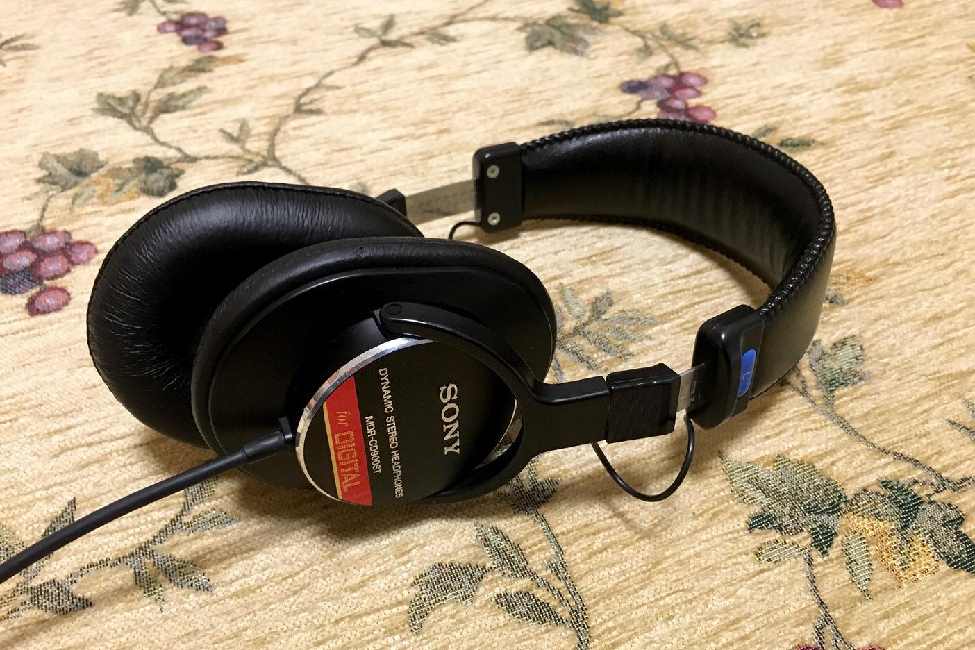 Sony mdr cd900st