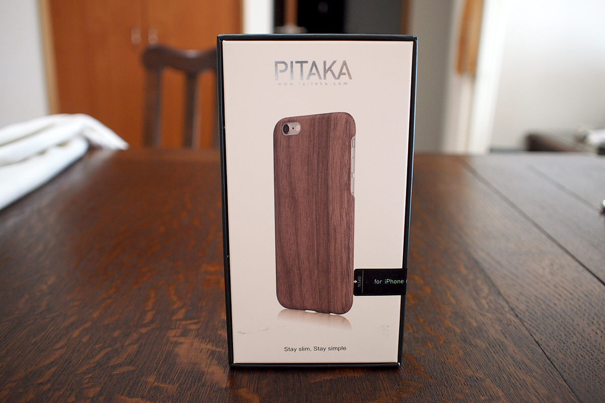 PITAKA iPhone6/6s Wood Case