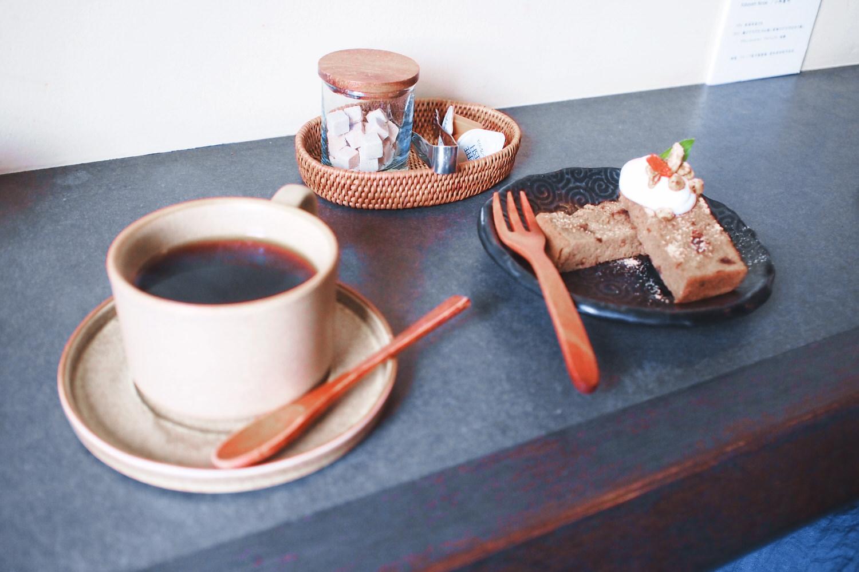 「まめちゃ」デザートと玄米コーヒー